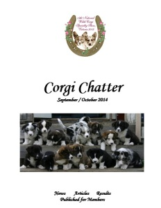 Sep-Oct 2014 Corgi Chatter Cover