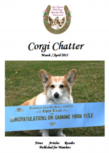 March-April 2015 corgi Chatter Cover